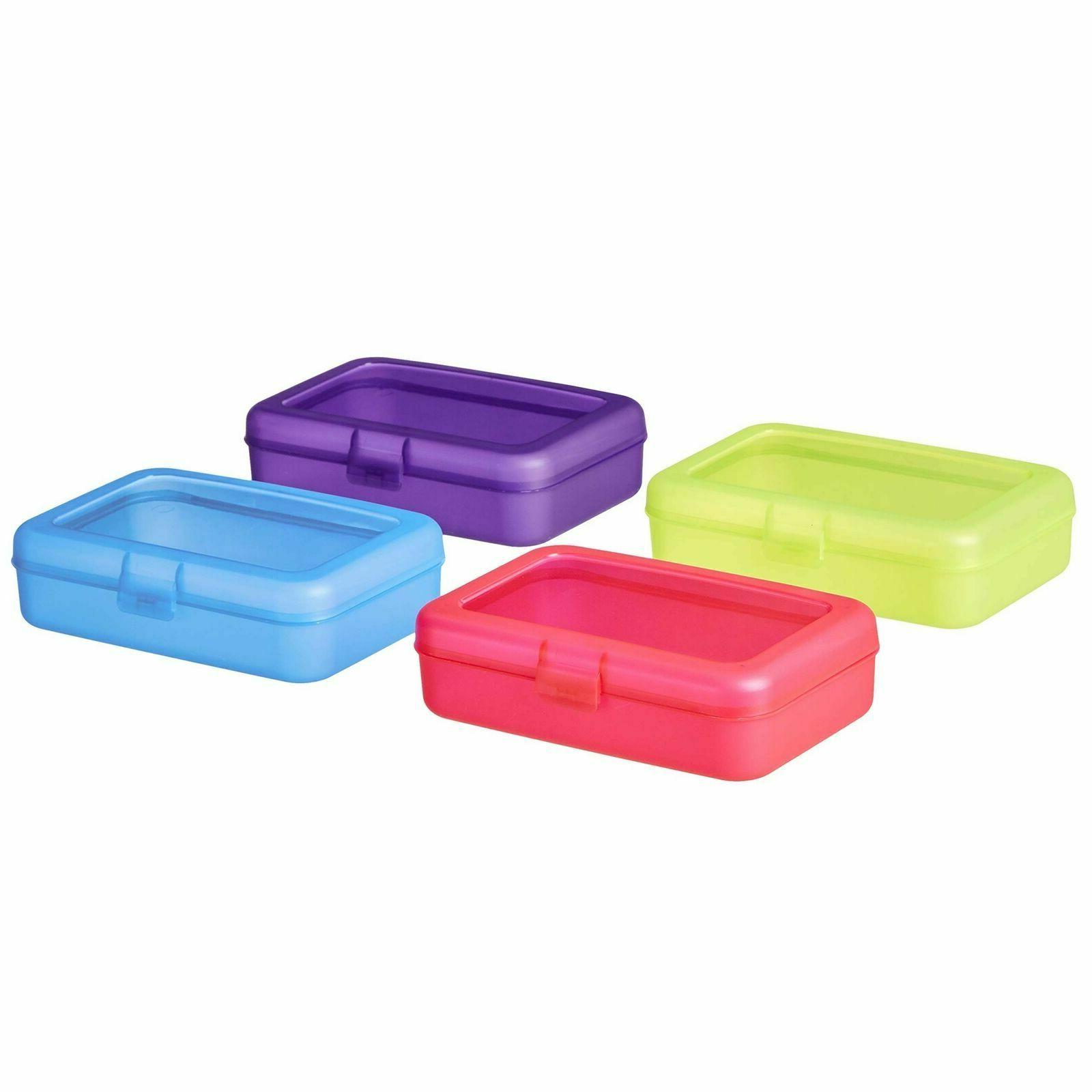 School Pencil Box Pack of Yellow Red Blue