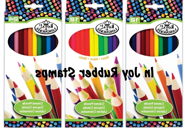school supplies colored pencils 12 vibrant colors