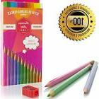 set of 36 colored pencils with free