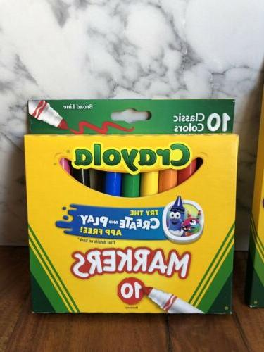 Crayola Sharpened Pencils & Line 2 Packs