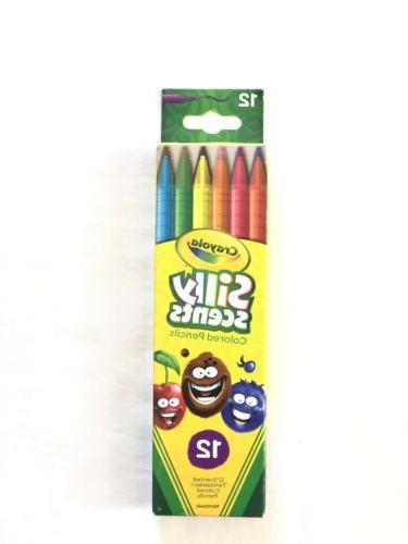Crayola Twistables Silly Scents Colored Pencils, 12 Non-Toxi