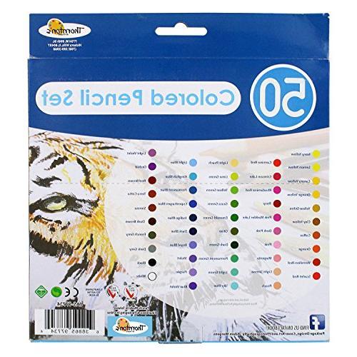 Thornton's Grade Colored Coloring Set,