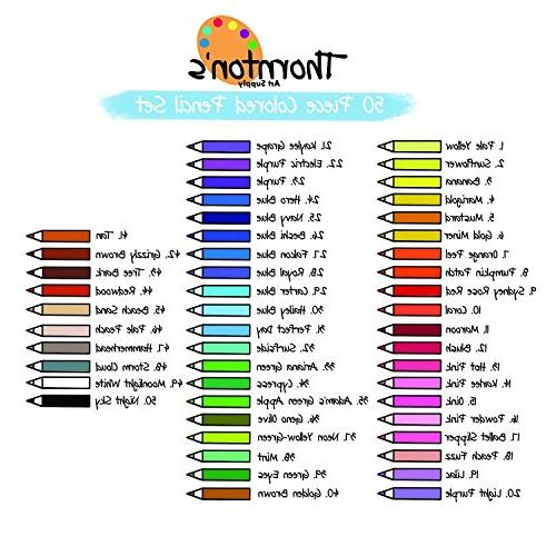 Thornton's Core Grade Adult Coloring Assorted Colors