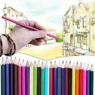 Special 24 Colors Drawing Pencils Non-toxic For Kid Adult Ar