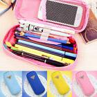 1PC Pencil Case Clamshell Fashion High Capacity Makeup Bag C