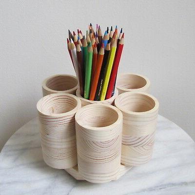 Studio Holder Organizer Pencils, Handmade USA