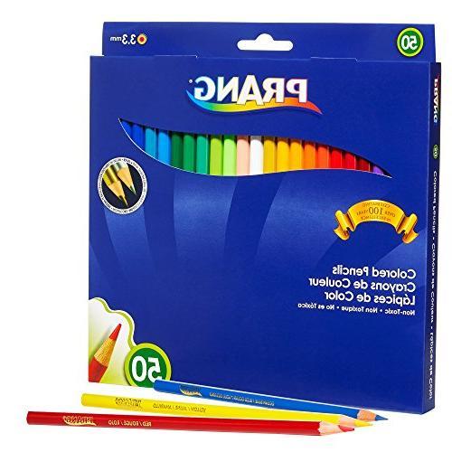 Prang Pencils, 3.3 Millimeter 7 Length, Colors,