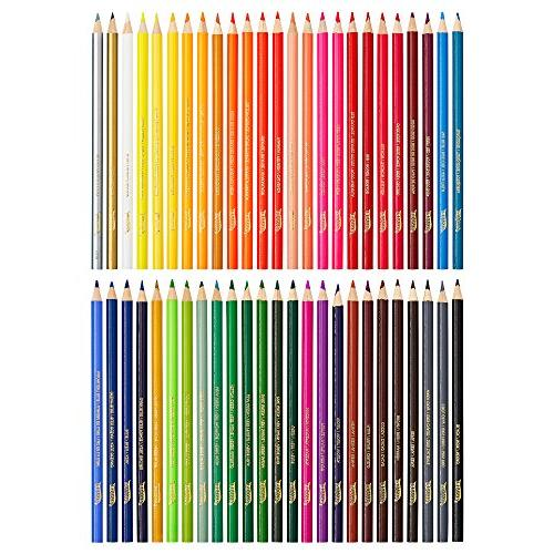 Prang Thick Core Pencils, 3.3 Millimeter 7 Colors, 50