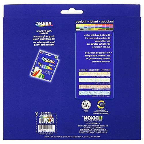 Prang Thick Core Colored Pencils, 7 Length, Colors, Count