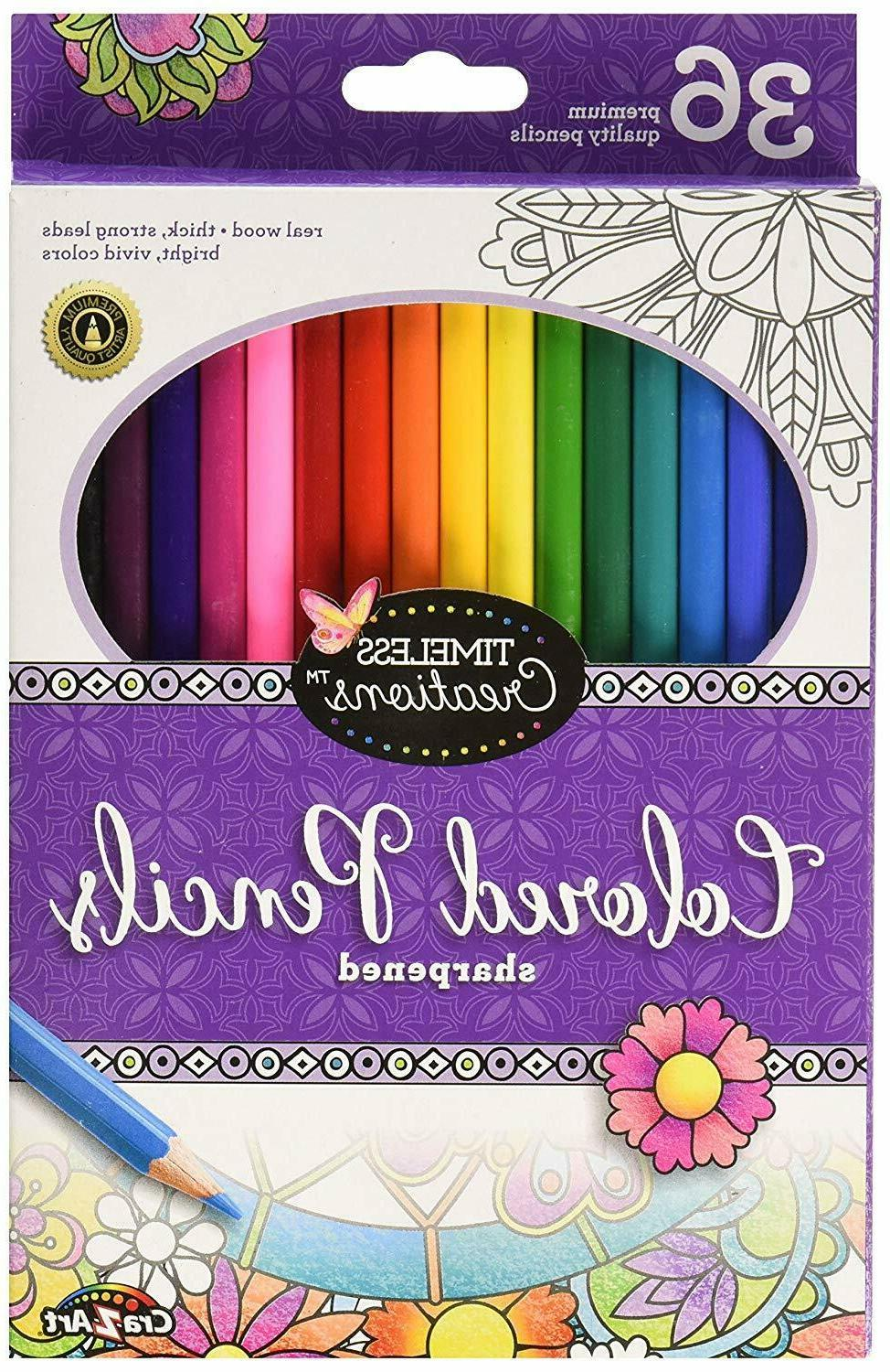 timeless creations coloring pencils