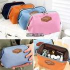 travel fabric cosmetic makeup bag pencil case