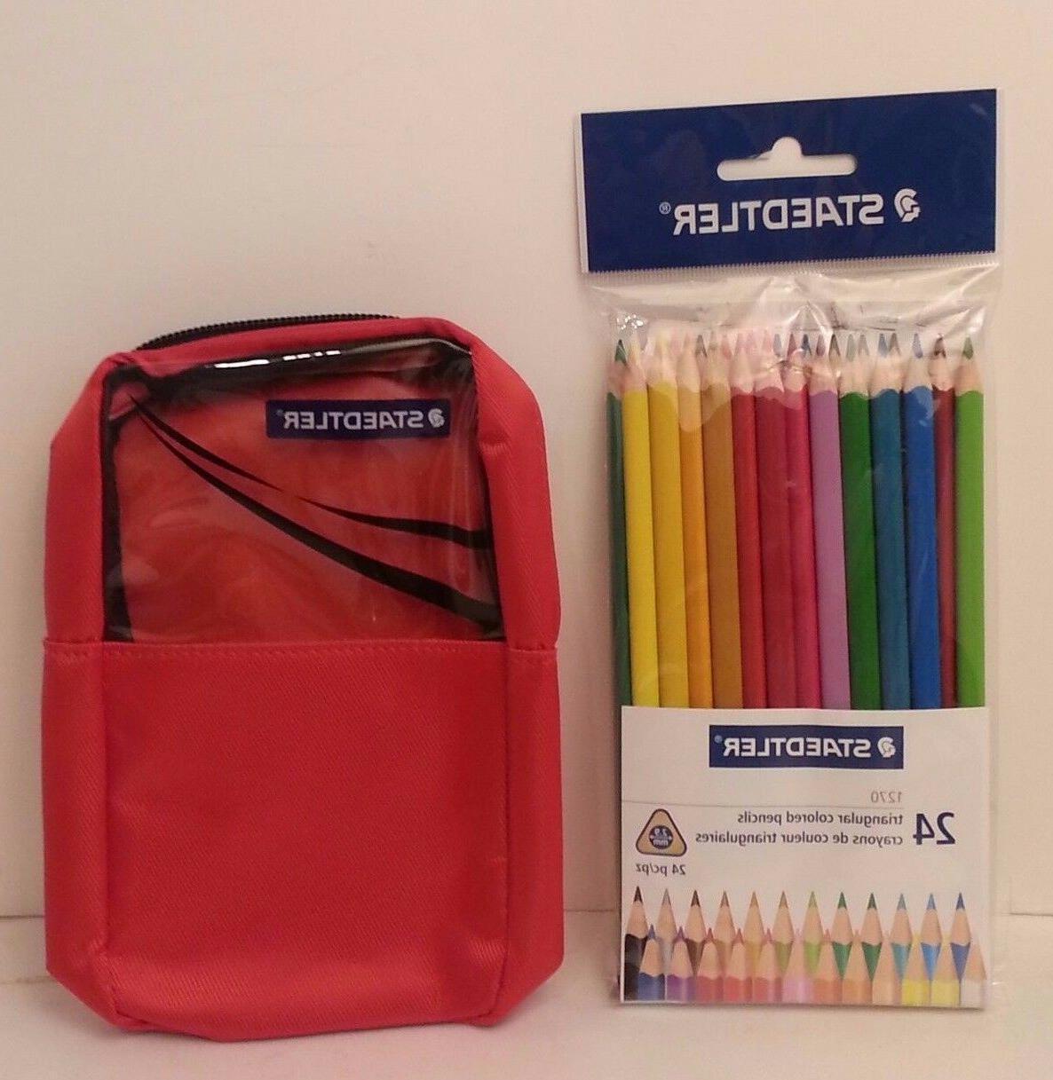 STAEDTLER 24 CT Triangular Pencil Color