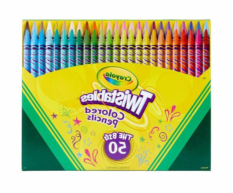 Crayola Twistables Colored Assorted Pack,Gift Count