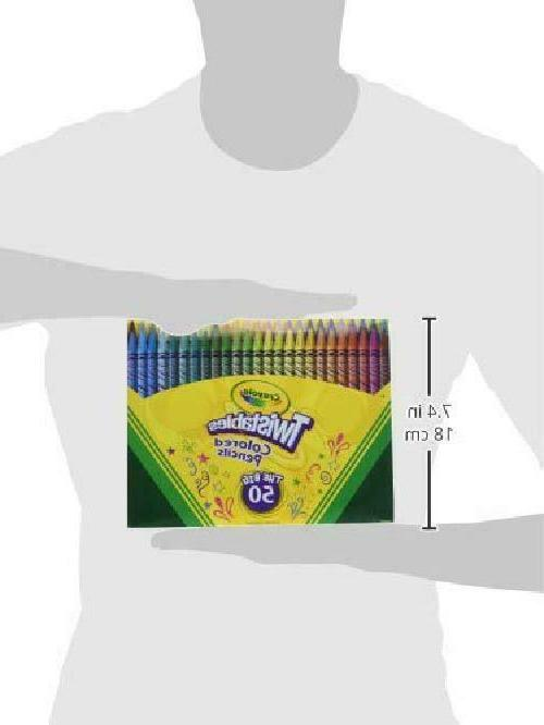 Crayola Twistables Colored Pencils Assorted Count