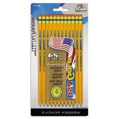 * USA Gold Series #2 Pencils, Cedar, Yellow, 24/Pk *