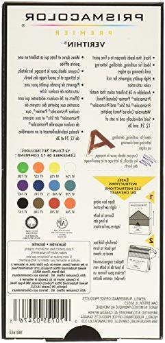 Prismacolor Coloured Pencils, 12-Count
