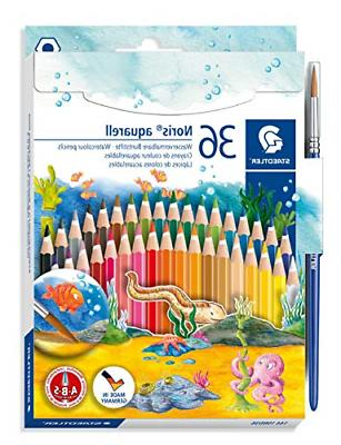 Staedtler Watercolor Pencils, Box of 36 Colors 14410ND36