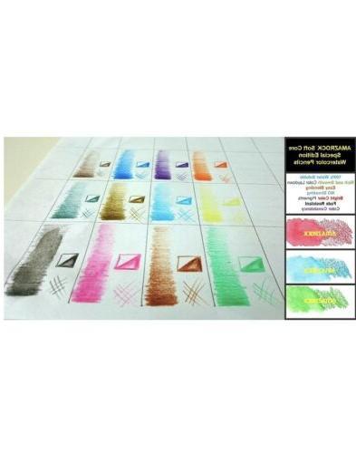 Amazrock Pencils Set - Colors Core Edition Water