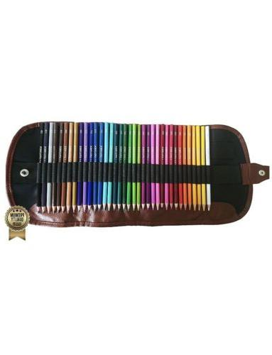 watercolor pencils set 36 colors soft core