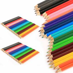 LARGE COLOURED PENCILS PACK School Stationery Children/Kids