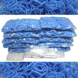 Bluedot Trading 6000-Piece Light Blue Rubber Band Kids Craft