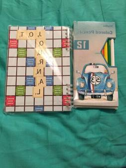 Scrabble Lined Notebook Jot Journal Paper 40 Sheets w/Madisi
