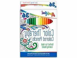 LIQUI-MARK Liquimark Pencil Set Color Therapy 36pc