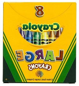20 Pack CRAYOLA LLC FORMERLY BINNEY & SMITH CRAYOLA LARGE SI