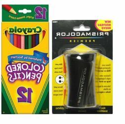 Crayola Long Colored Pencils + Free Prismacolor Premier Penc