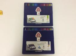 Lot Of 2 Staedtler Ergo Soft Coloured Pencils  Set of 24