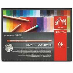 Caran D'ache Luminance Colored Pencil Set of 40