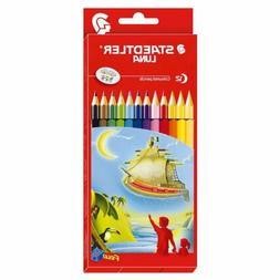 Staedtler Luna Coloured Pencils 12s