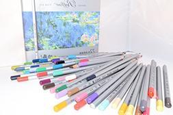 Raffine 72 Colors Marco Fine Art Drawing Oil Base Pencil Set