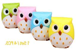 Small Mechanical Pencil Sharpener Manual Color Kawaii Owl Cr
