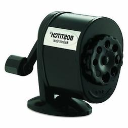 Bostitch Metal Antimicrobial Manual Pencil Sharpener, Black