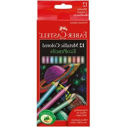 Metallic Colored EcoPencils SCHOOL SUPPLIES Faber Castell 12