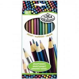 Metallic Colored Pencils-12/Pkg