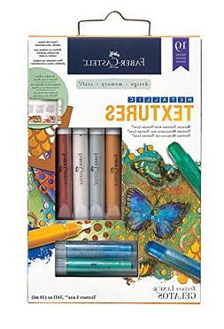Faber-Castell Metallic Texture Kit - Mixed Media Paper Craft