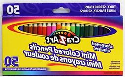 Pack of 50 Cra-Z-Art Mini Colored Pencils