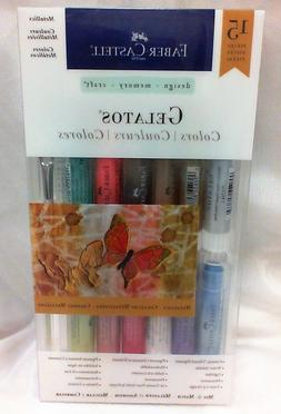 Mix & Match Gelatos 15 pc. kits by Faber-Castell Choose from