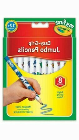 Crayola My First Easy Grip Jumbo Decorated Colouring Pencils