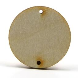 Mylittlewoodshop - Pkg of 25 - Circle Cutout - 1 inch in dia