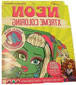 Crayola Neon Extreme Super Bright Monster High Coloring Kit