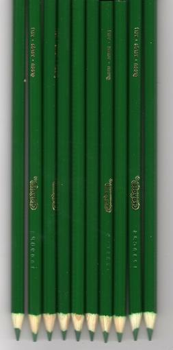New Crayola Colored Pencils 12 Count GREEN - FREE SHIPPING!