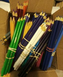 New Colored Pencils  10 Packs PICK YOUR COLOR