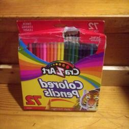 NEW Cra-Z-Art Colored Pencils 72-Count, Real wood colored pe