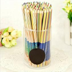 New Craft Art Supply Drawing  Painting  Rainbow Color Pencil