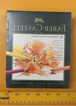 New Faber Castell Polychromos Colored Pencils Gift Box Set o