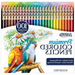 NEW ArtSkills Premium Colored Pencils 100 Count Pre Sharpene