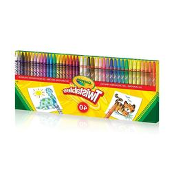NEW! Crayola Twistables 40 ct box  NIB